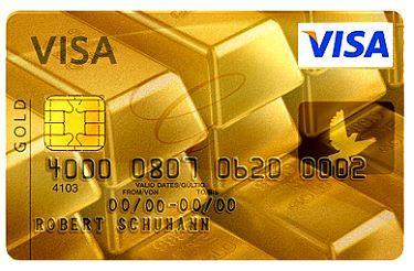 ویزا کارت گلد
