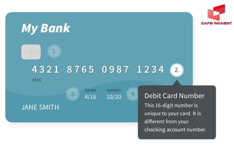 شماره دبیت کارت